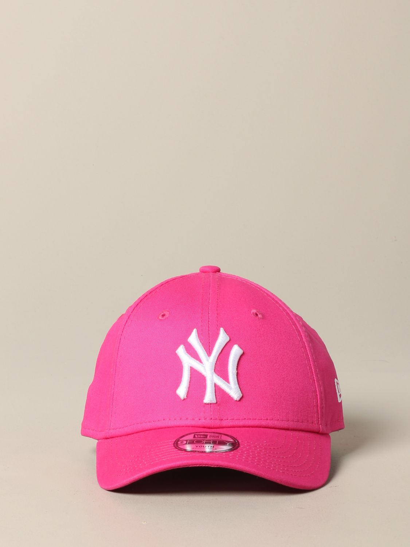 Hut New Era: New Era Basic Cap mit NY Yankees Logo pink 2