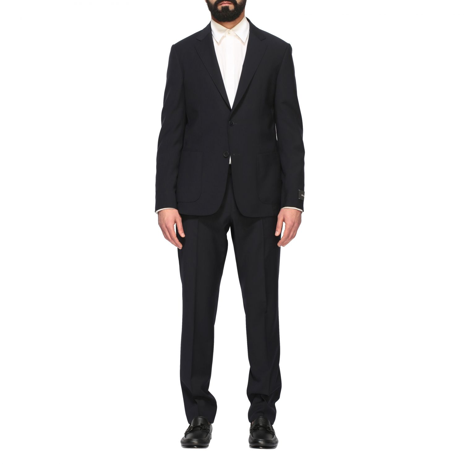 Suit men Z Zegna blue 1