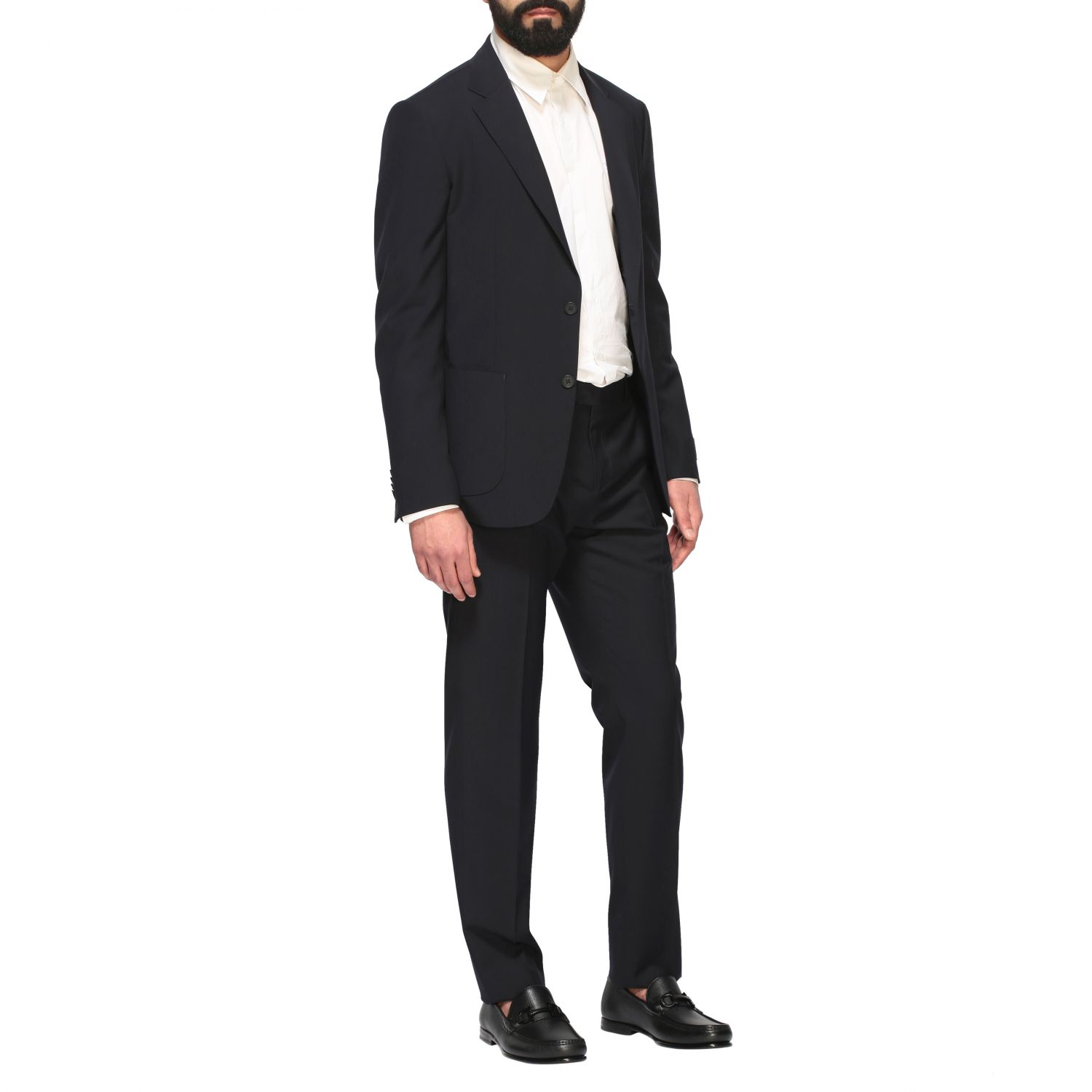 Suit men Z Zegna blue 2