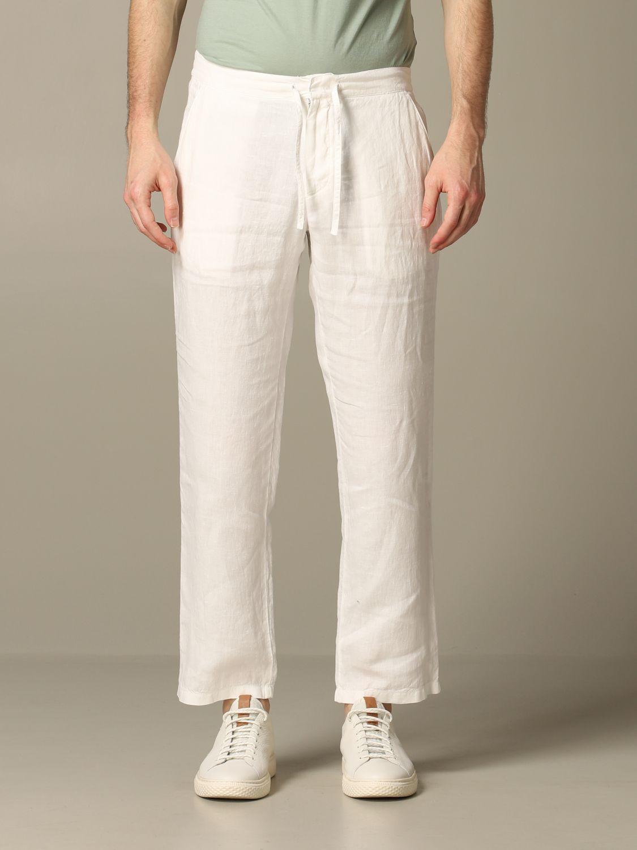 Trousers men Z Zegna white 1