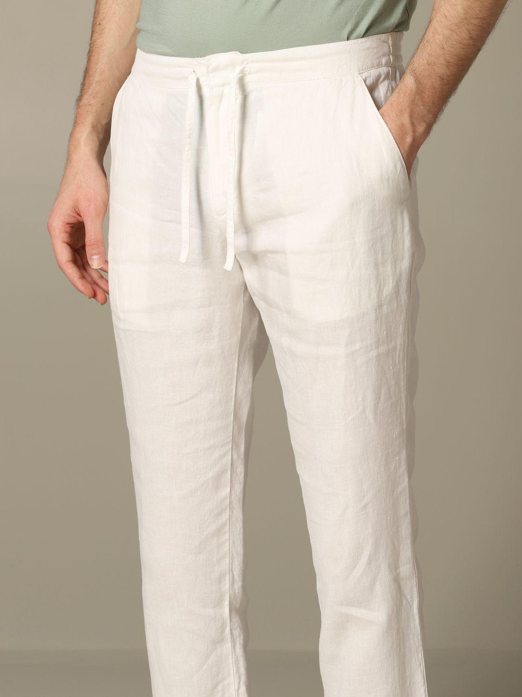 Trousers men Z Zegna white 3
