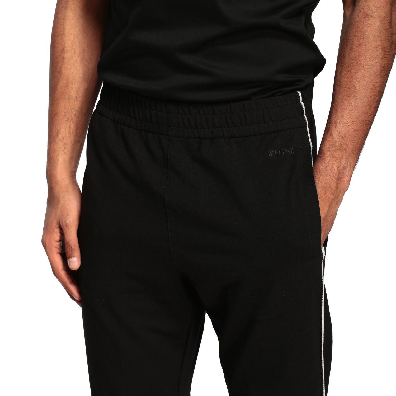Trousers men Z Zegna black 5