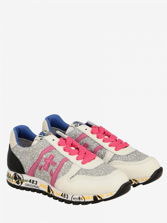 Shoes kids Premiata white 2