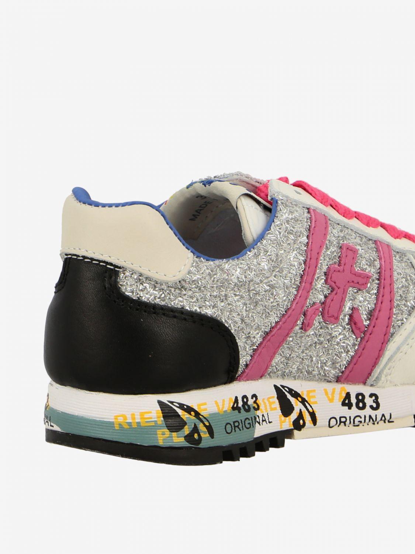 Shoes kids Premiata white 3