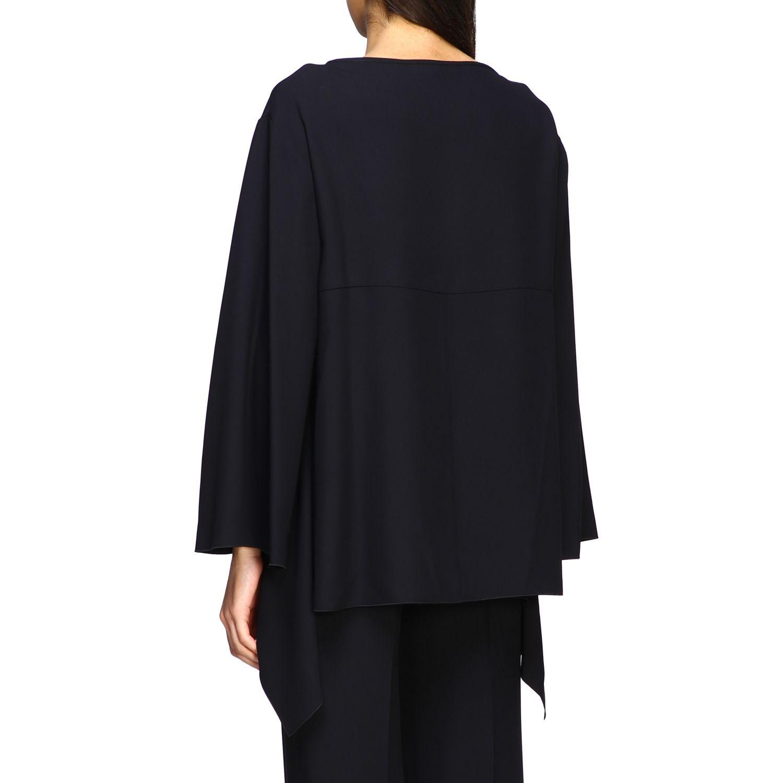 Рубашка Alberta Ferretti: Блузка с длинным рукавом Женское Alberta Ferretti черный 3