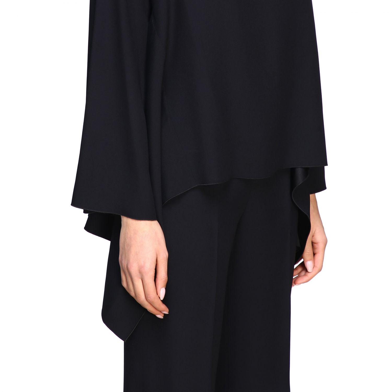 Рубашка Alberta Ferretti: Блузка с длинным рукавом Женское Alberta Ferretti черный 5