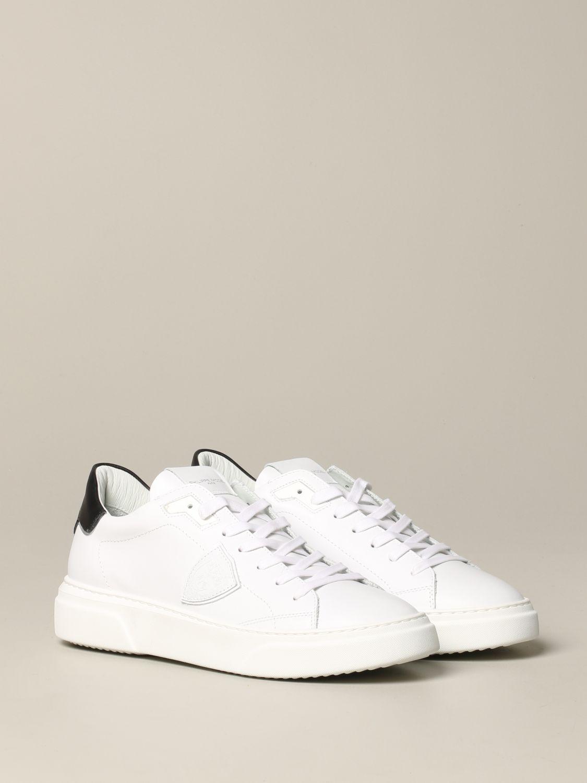 Philippe Model Temple Leder Sneakers weiß 2