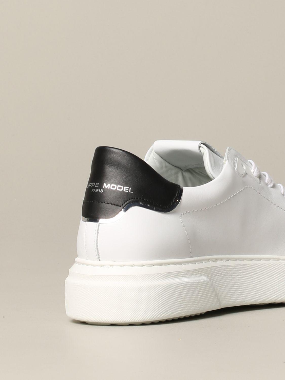 Philippe Model Temple Leder Sneakers weiß 5