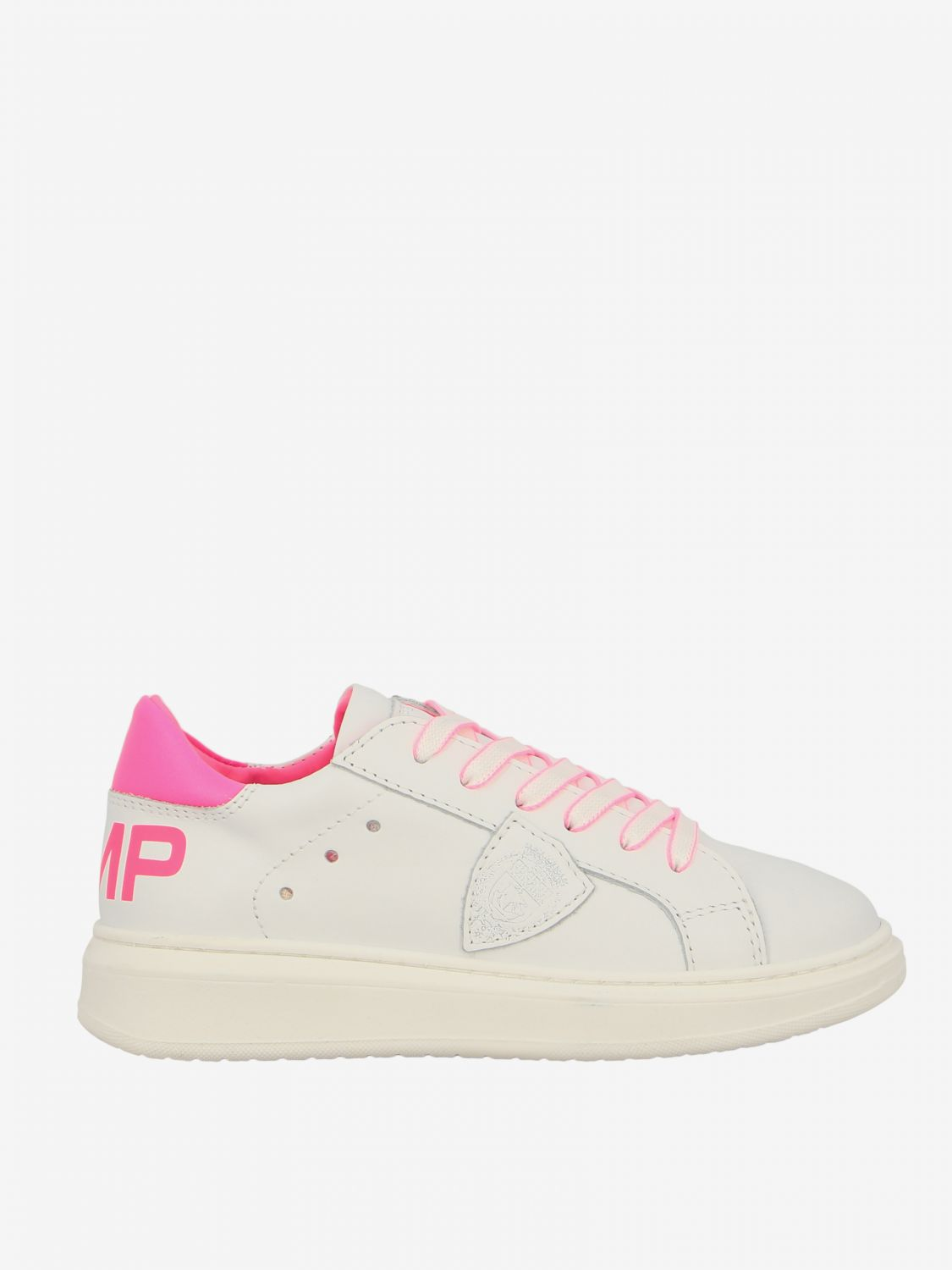Shoes kids Philippe Model white 1