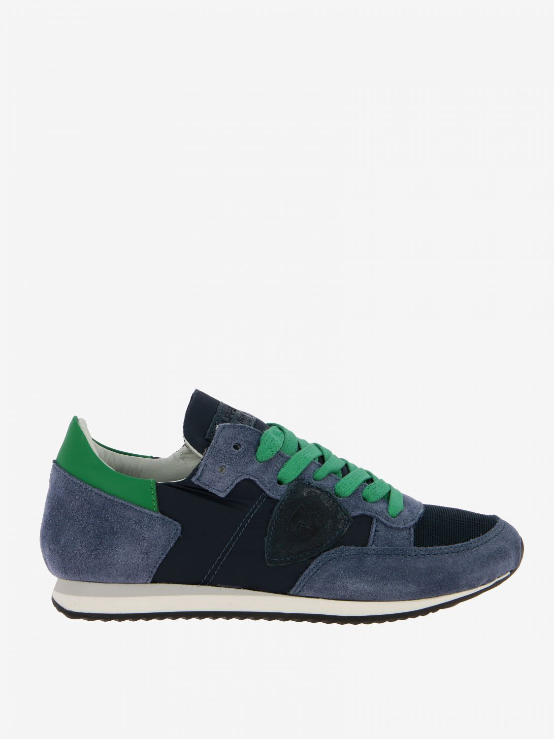 Shoes kids Philippe Model blue 1