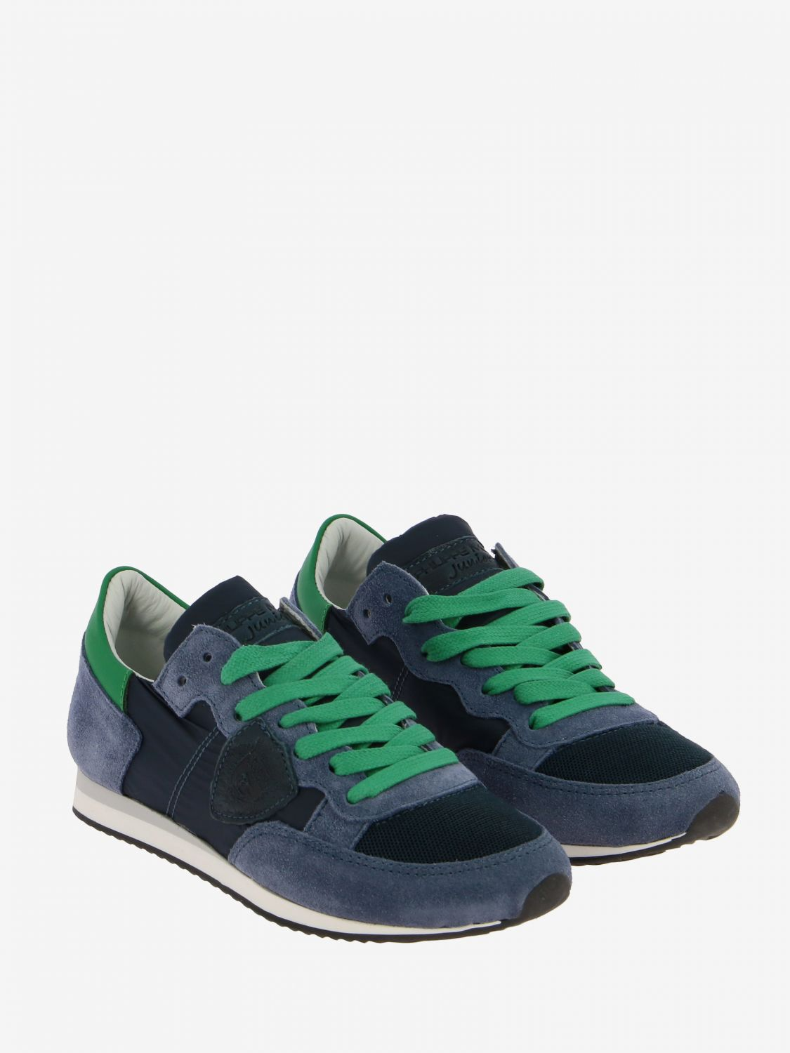 Shoes kids Philippe Model blue 2