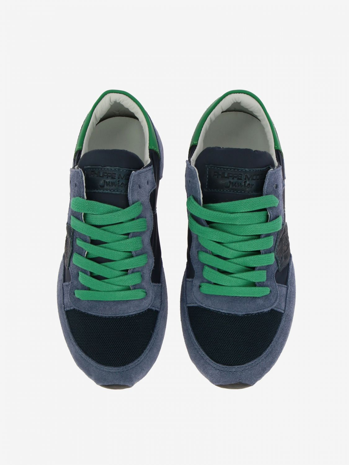 Shoes kids Philippe Model blue 3