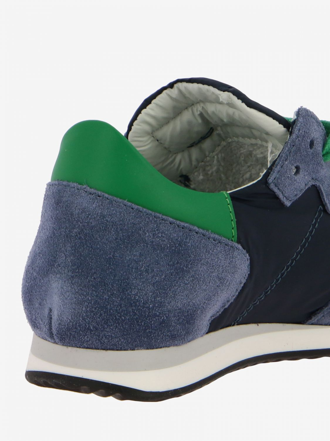 Shoes kids Philippe Model blue 5