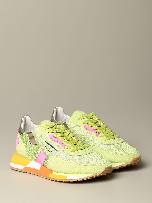 Sneakers Ghoud: Schuhe damen Ghoud grün 2