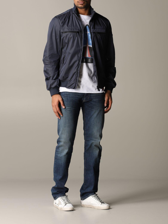 Jacket men Peuterey navy 2