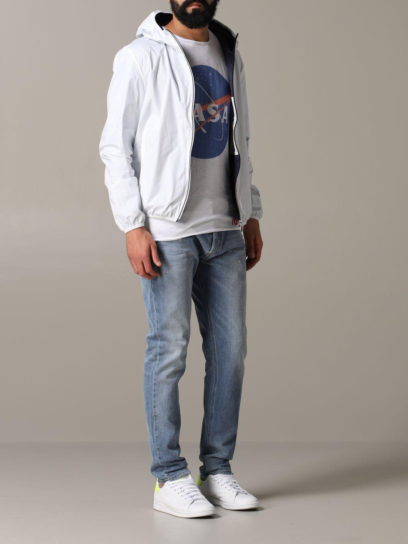 Jacket men Invicta white 2