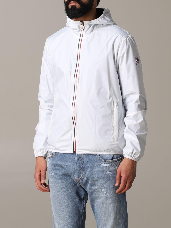 Jacket men Invicta white 4