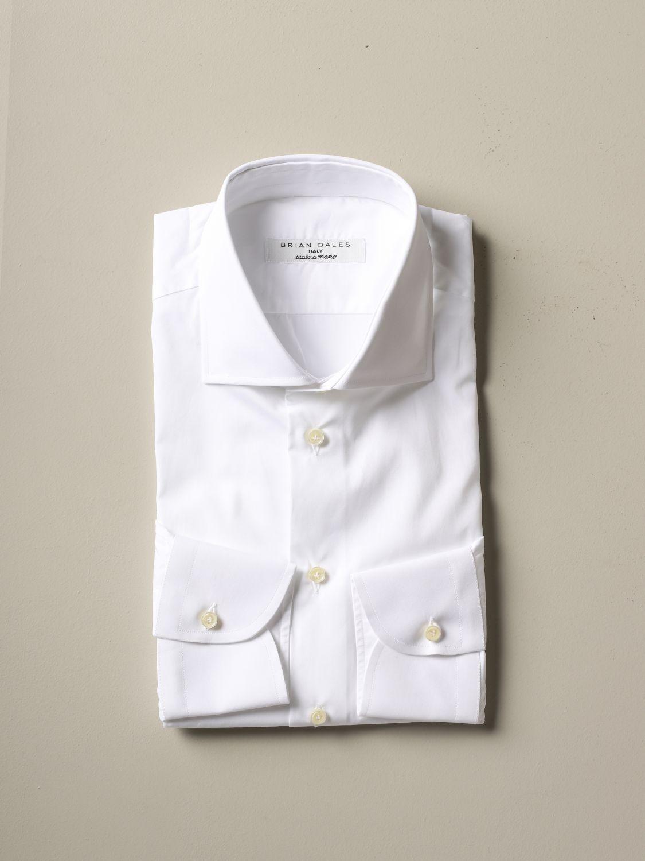 Рубашка Мужское Brian Dales Camicie белый 1