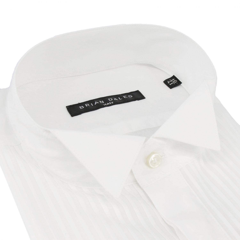 Рубашка Мужское Brian Dales Camicie белый 2