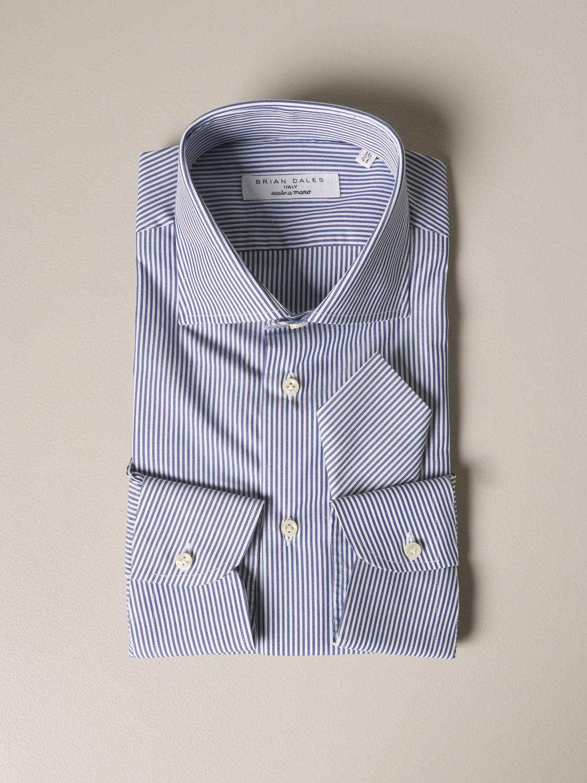 衬衫 男士 Brian Dales Camicie 蓝色 1