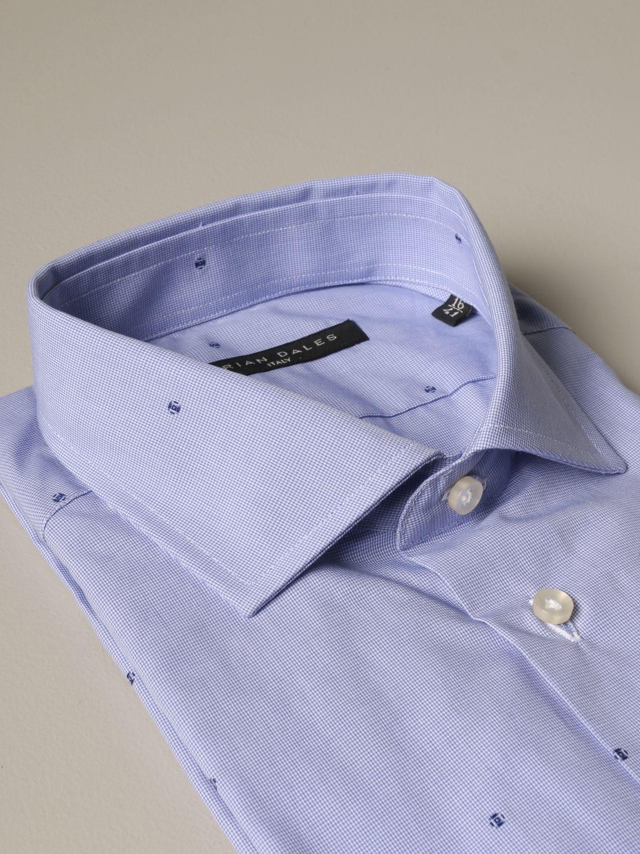 Shirt Brian Dales Camicie: Shirt men Brian Dales Camicie gnawed blue 2
