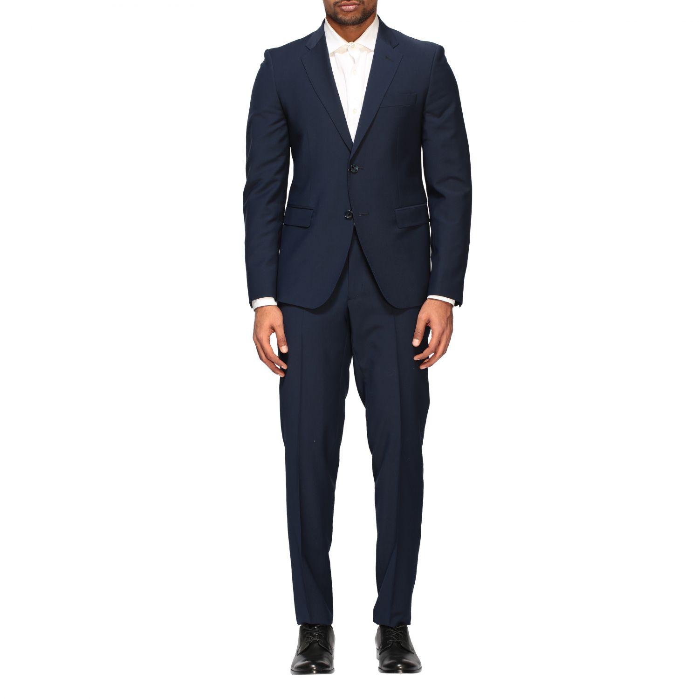 Suit Brian Dales: Brian Dales 220gr drop 7 wool suit blue 1