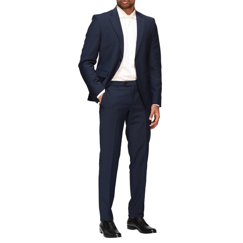 Suit Brian Dales: Brian Dales 220gr drop 7 wool suit blue 2