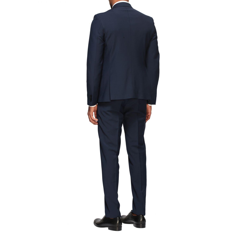 Suit Brian Dales: Brian Dales 220gr drop 7 wool suit blue 3