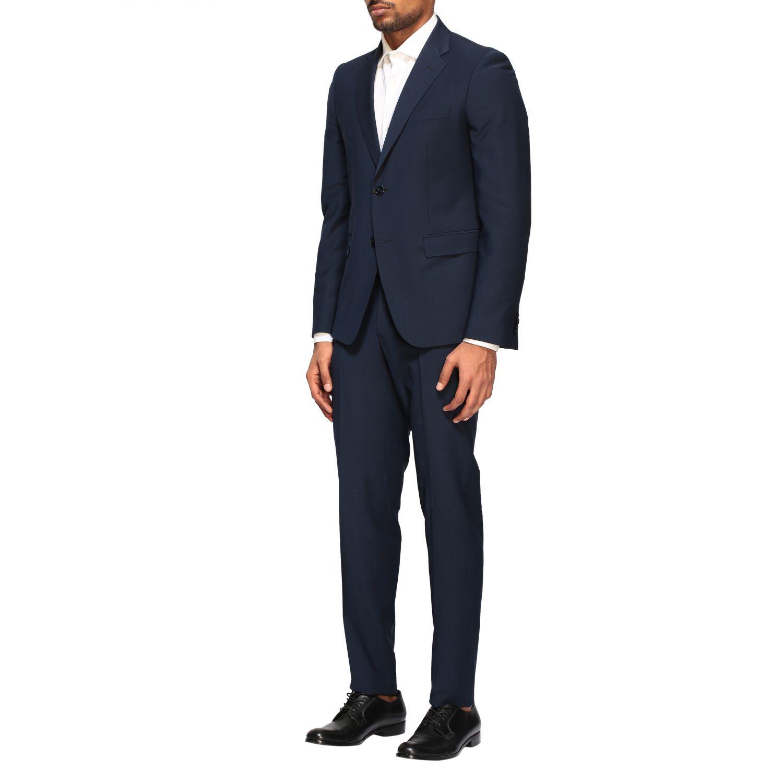 Suit Brian Dales: Brian Dales 220gr drop 7 wool suit blue 4