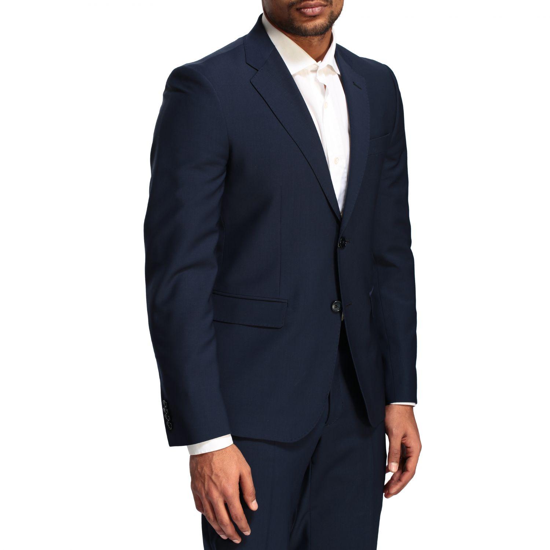 Suit Brian Dales: Brian Dales 220gr drop 7 wool suit blue 5