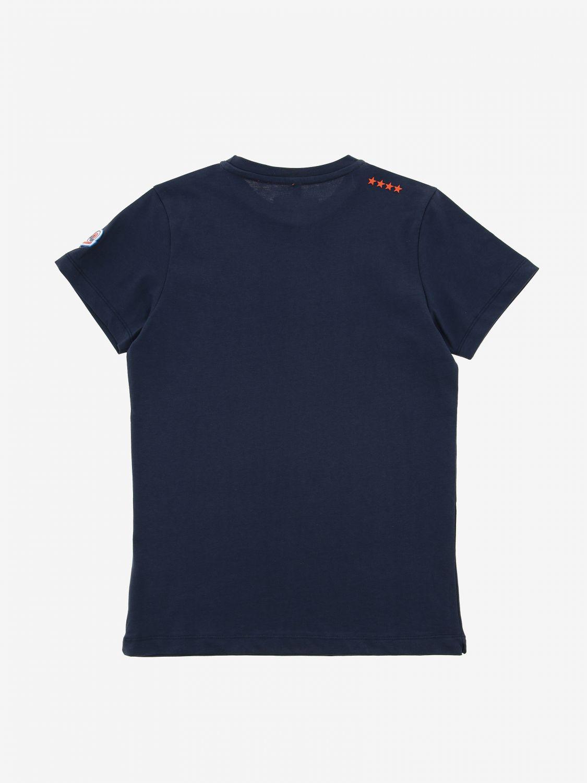 Invicta T-Shirt mit zweifarbigem Logo-Print blau 2