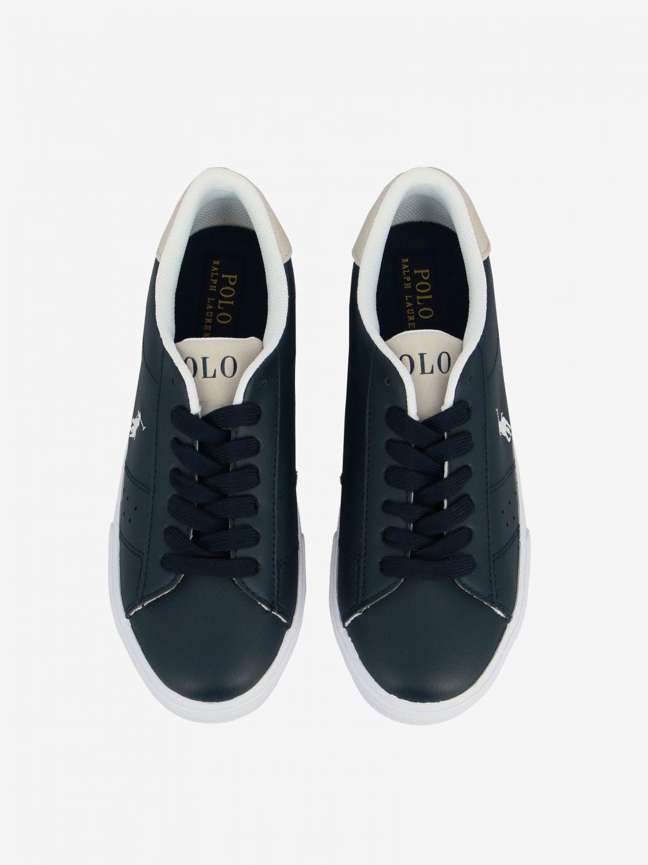 Shoes kids Polo Ralph Lauren blue 3