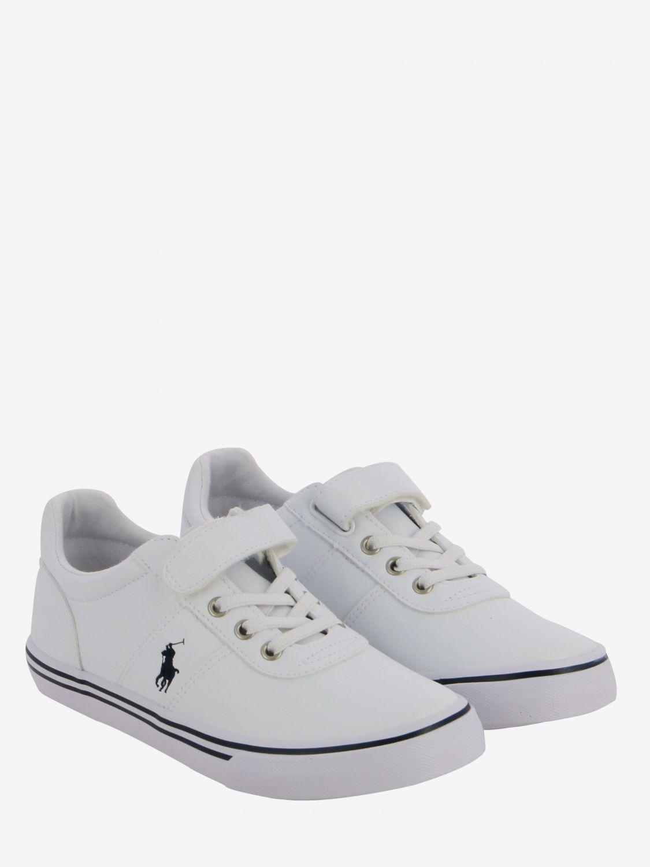 Shoes kids Polo Ralph Lauren white 2