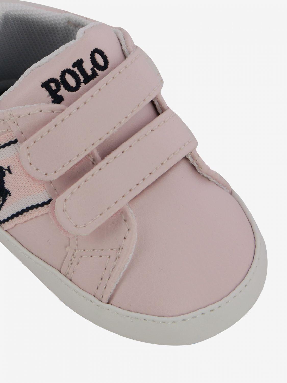 鞋履 儿童 Polo Ralph Lauren 粉色 4
