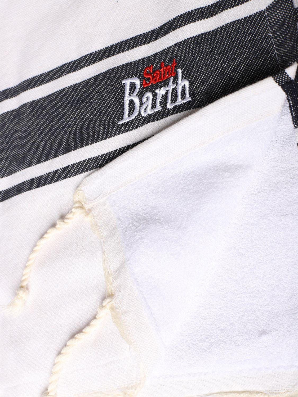 男孩浴巾 儿童 Mc2 Saint Barth 白色 2