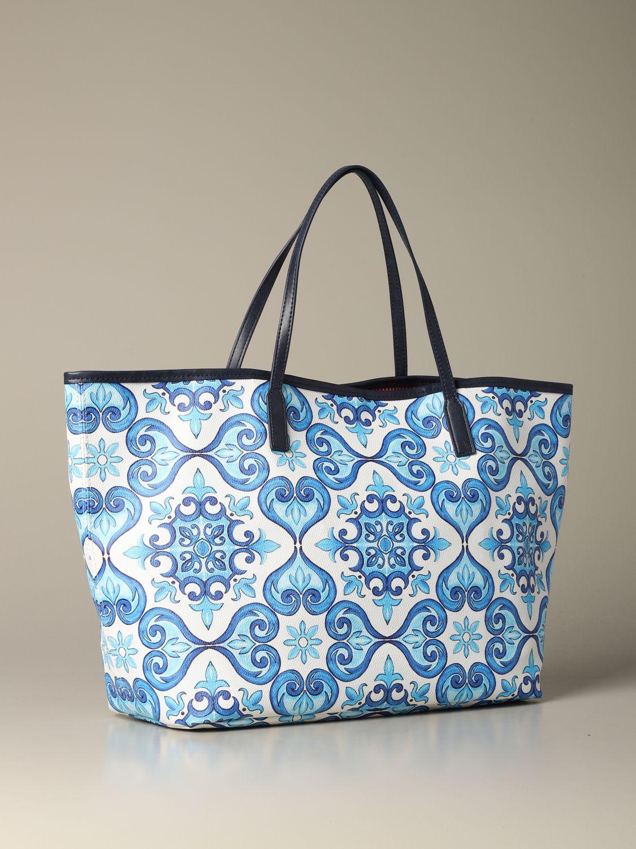 Shoulder bag women Mc2 Saint Barth gnawed blue 2