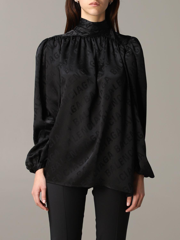Shirt Balenciaga: Top women Balenciaga black 1