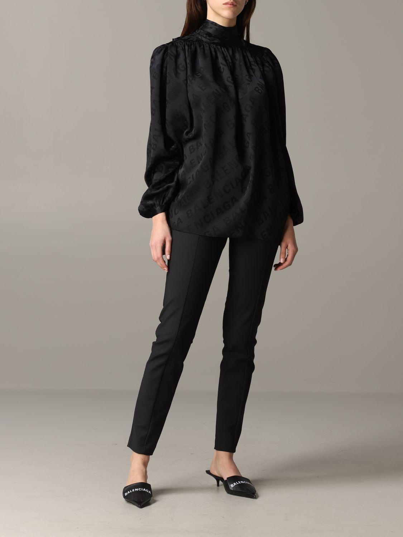 Shirt Balenciaga: Top women Balenciaga black 2