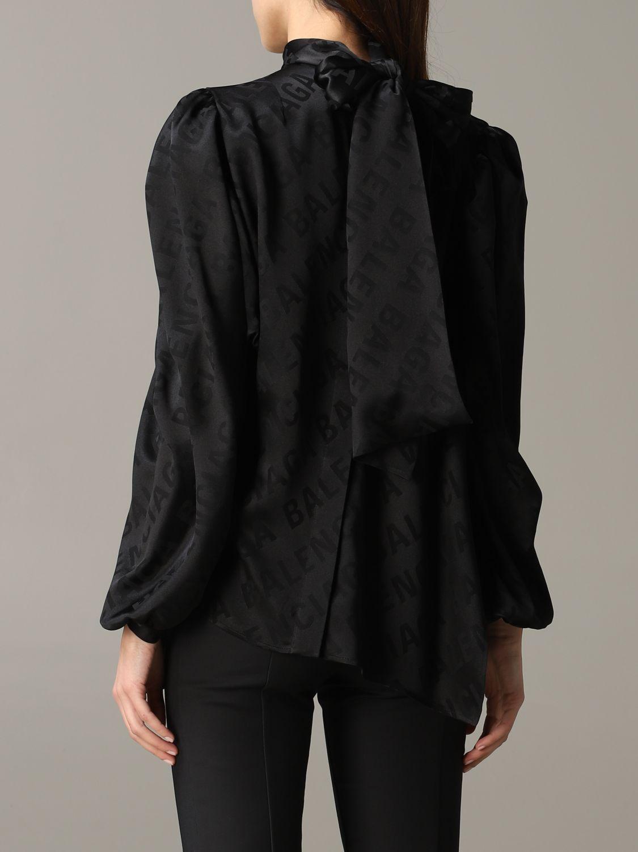 Shirt Balenciaga: Top women Balenciaga black 3