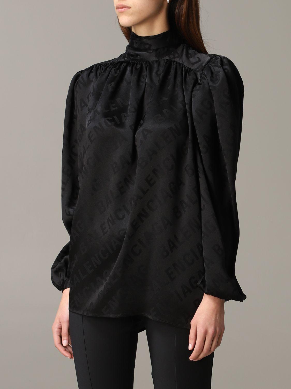 Shirt Balenciaga: Top women Balenciaga black 4