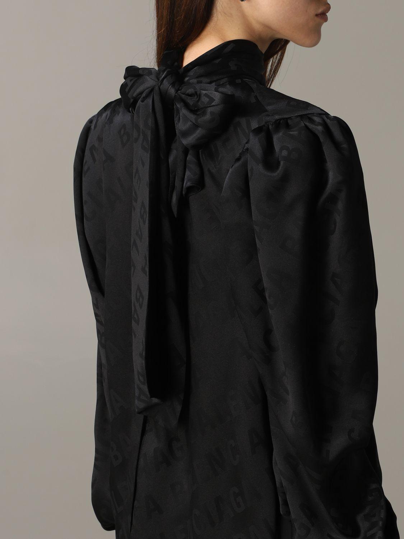 Shirt Balenciaga: Top women Balenciaga black 5