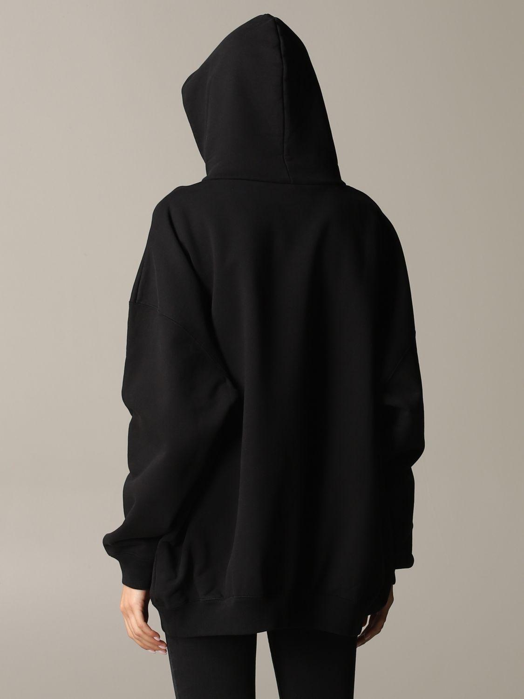 Толстовка Женское Balenciaga черный 3