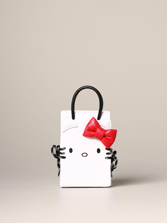Наплечная сумка Женское Balenciaga белый 1