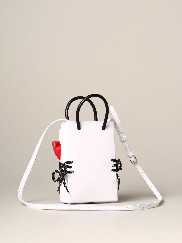 Наплечная сумка Женское Balenciaga белый 3