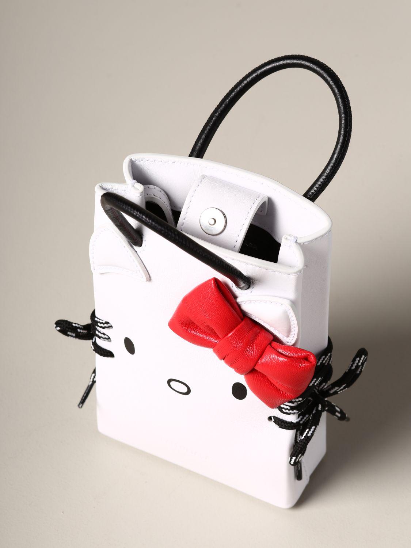 Наплечная сумка Женское Balenciaga белый 5