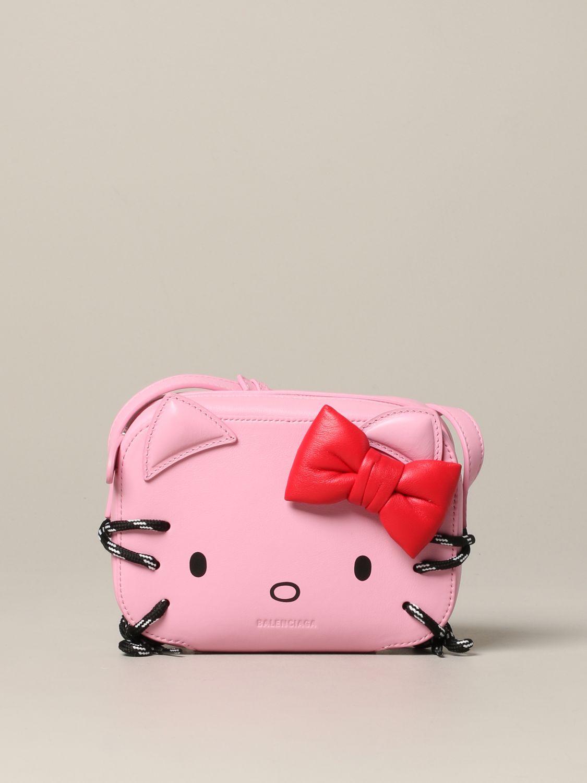 Mini bag Balenciaga: Shoulder bag women Balenciaga pink 1