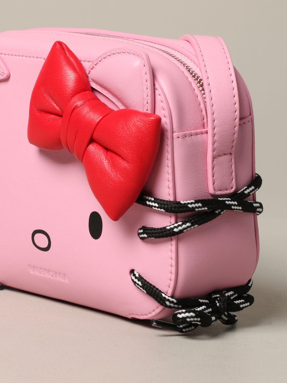 Mini bag Balenciaga: Shoulder bag women Balenciaga pink 4