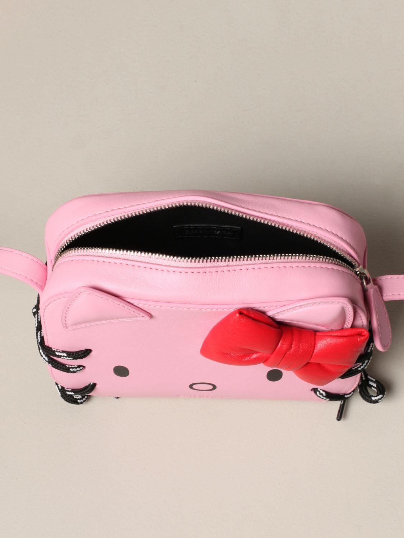 Mini bag Balenciaga: Shoulder bag women Balenciaga pink 5