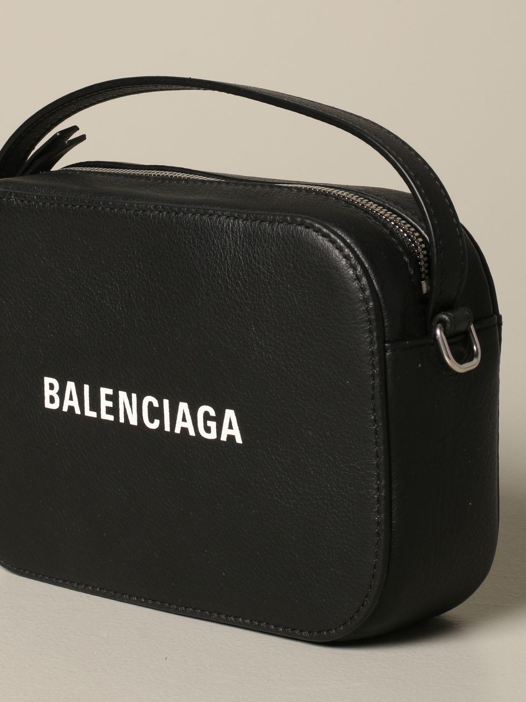 Mini bag Balenciaga: Shoulder bag women Balenciaga black 4