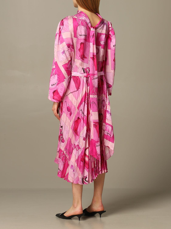 Dress Balenciaga: Dress women Balenciaga pink 2